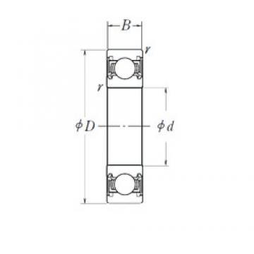 22,2 mm x 56 mm x 21 mm  NTN TM-623/22LLUA/22.2C3/L106Q1 Rolamentos de esferas profundas