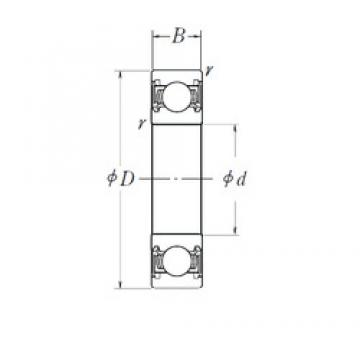 NTN SC07A42LLSAC4/L014 Rolamentos de esferas profundas