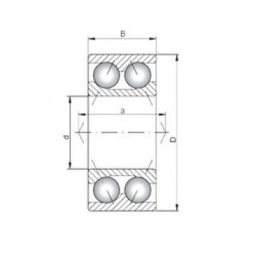ISO 3312 Rolamentos de esferas de contacto angular