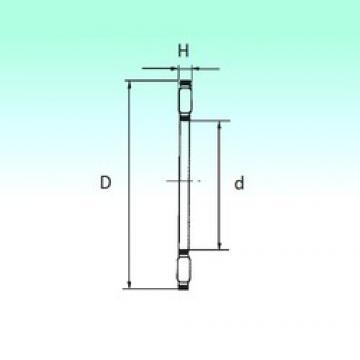 NBS AXK 0619 TN Rolamentos de agulha