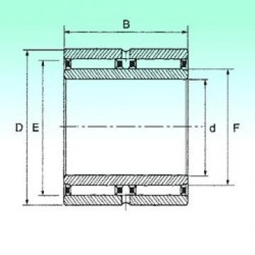 25 mm x 42 mm x 32 mm  NBS NAO 25x42x32 - ZW Rolamentos de agulha